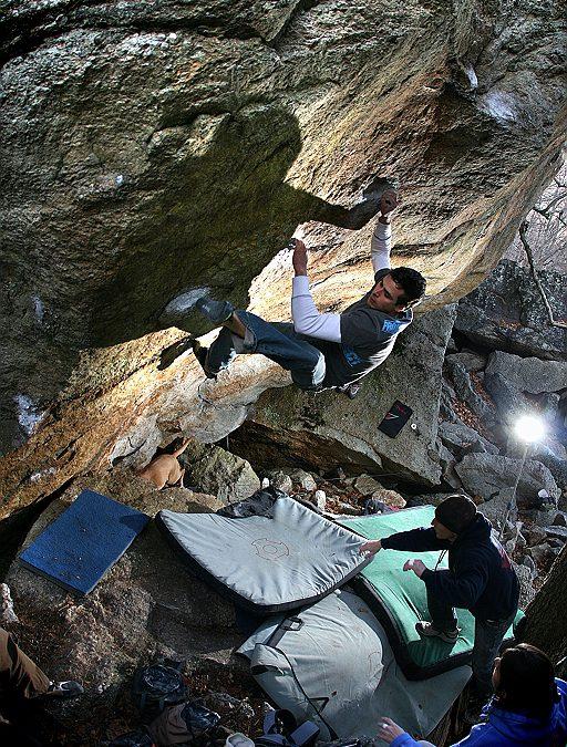 Gunks Bouldering – New Paltz 2009