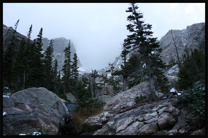 RMNP Emerald Lake – Storm Shadow