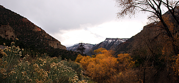Joe's Valley Bouldering Fall 2010