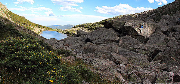 Mount Evans Bouldering – Lincoln Lake