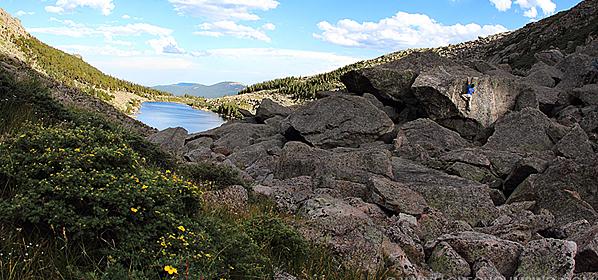 Mount Evans Bouldering – Lincoln Lake
