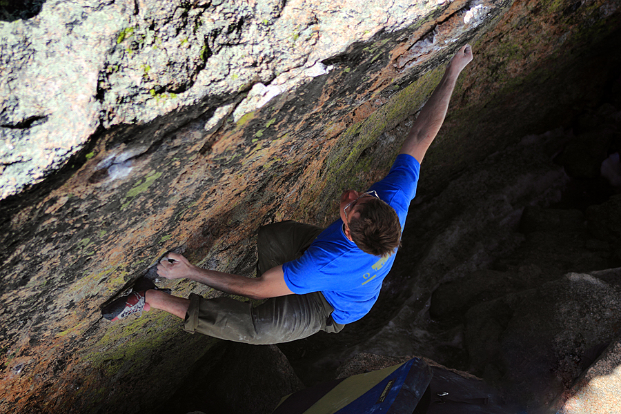 Colorado's Alpine Bouldering Season