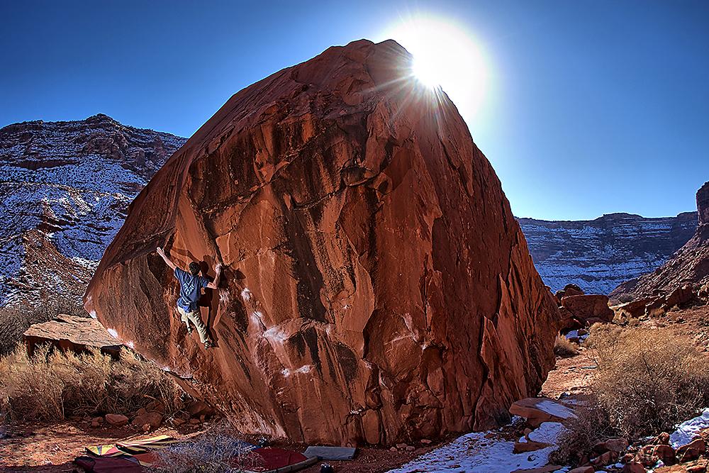 Bouldering in MOAB-Utah 2013
